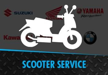 Scooters up to 249cc Services